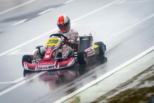 Internacional - Caio Collet termina entre os Top-10 na 1ª etapa do WSK Super Master Series
